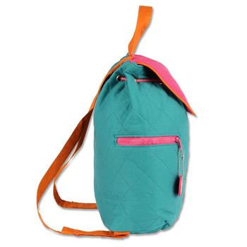 Quilted backpacks Teal Owl Stephen Joseph