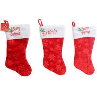 Classic Merry Christmas Stocking