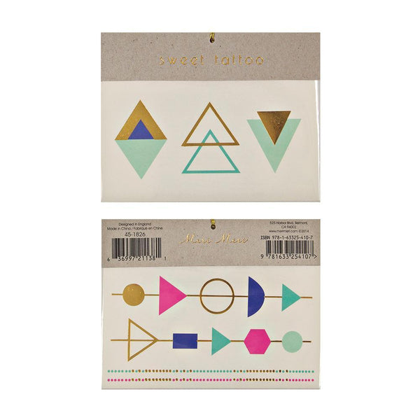 MERI MERI | Temporary Tattoos - Triangle