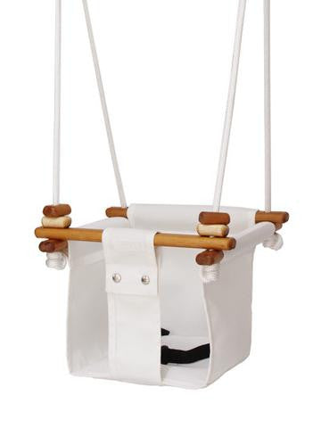 Solvej Baby & Toddler Swing - Merino White