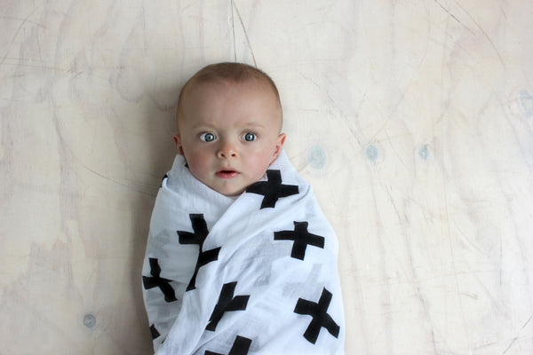 RISER Organic Cotton Wrap - Crosses