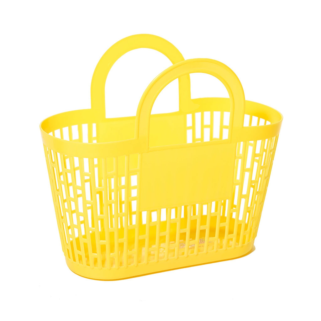 Sun Jellies Carnival Basket - Neon Yellow