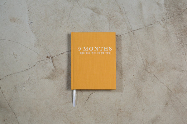 Write to Me 9 MONTHS Journal - The Beginning of You (WAREHOUSE SALE)
