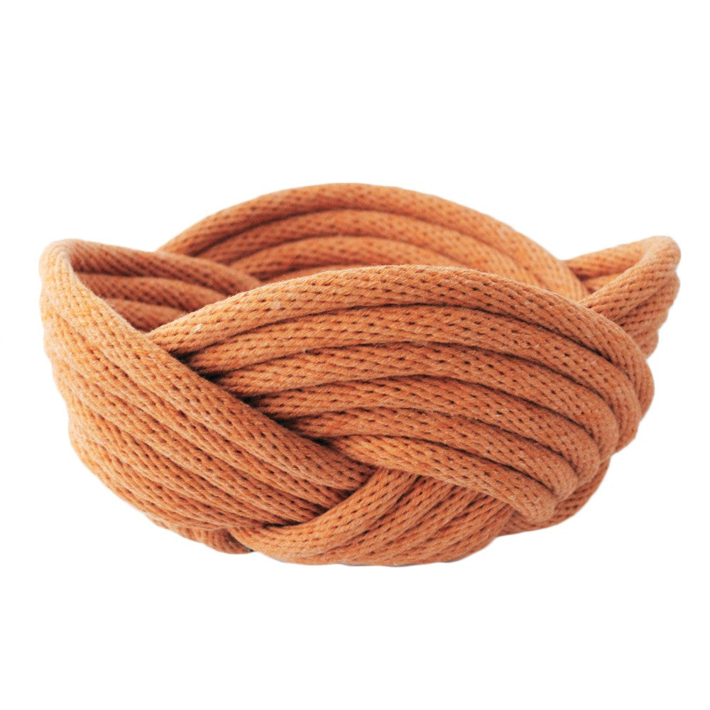 Crayon Chick Weave Bowl in Cinnamon - Small or Medium