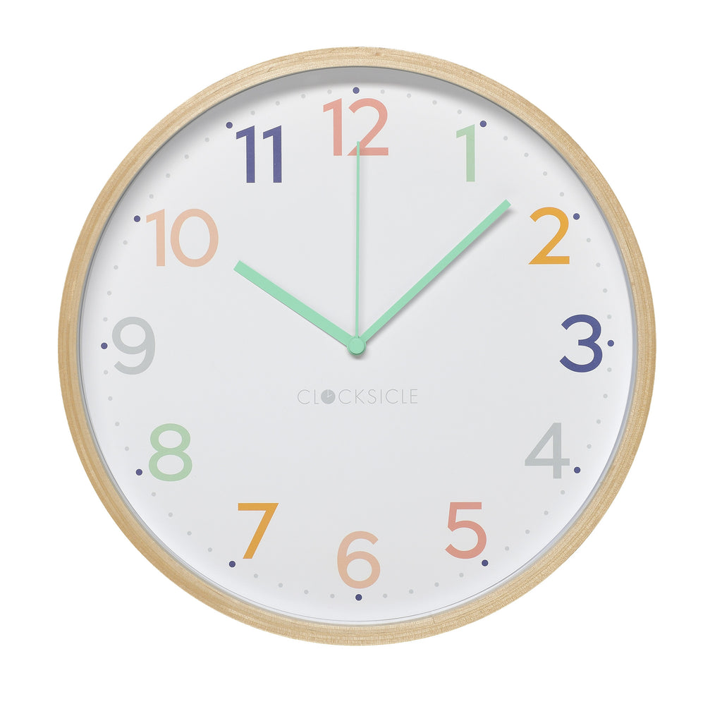 Clocksicle Wall Clock - Rainbow