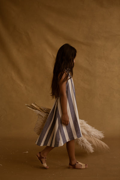 FEATHER DRUM | Elena Sack Dress