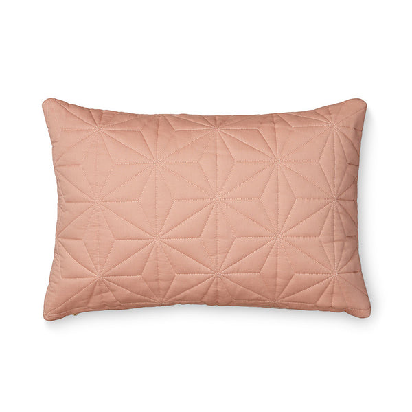 Cam Cam Quilted Cushion Cover - Rectangle in Blush