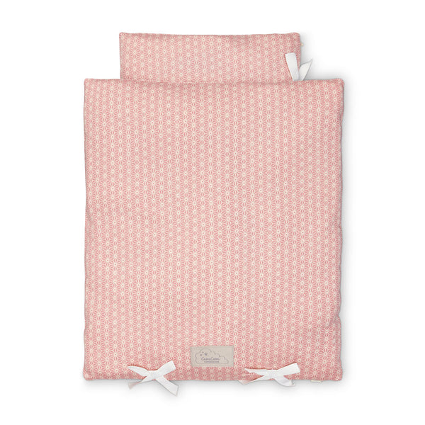 Cam Cam Doll's Bedding Set - Sashiko Blush
