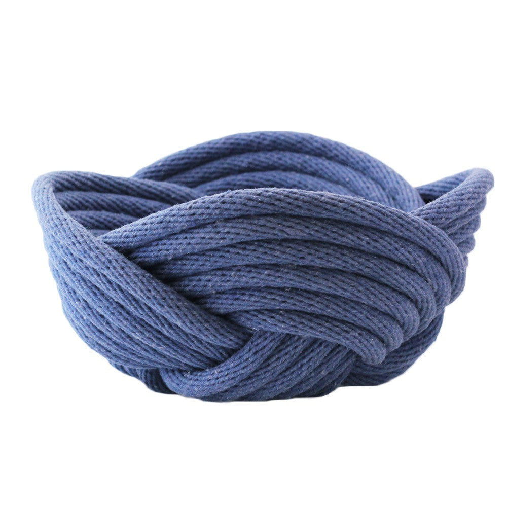 Crayon Chick Weave Bowl in Indigo - Small or Medium