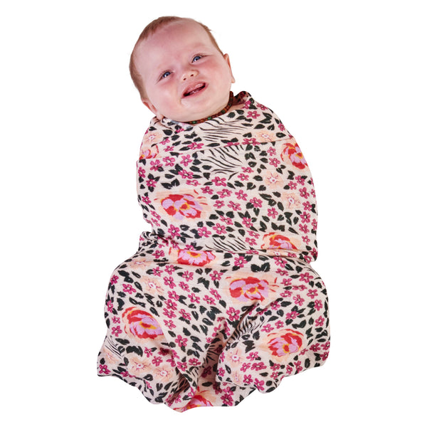 KIP & CO Bamboo Baby Wrap Swaddle - Forest Floor