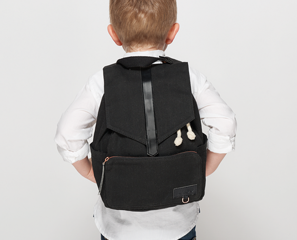 KAOS Kids Mini Ransel Backpack - Black