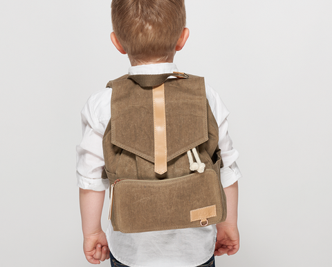 KAOS Kids Mini Ransel Backpack - Khaki