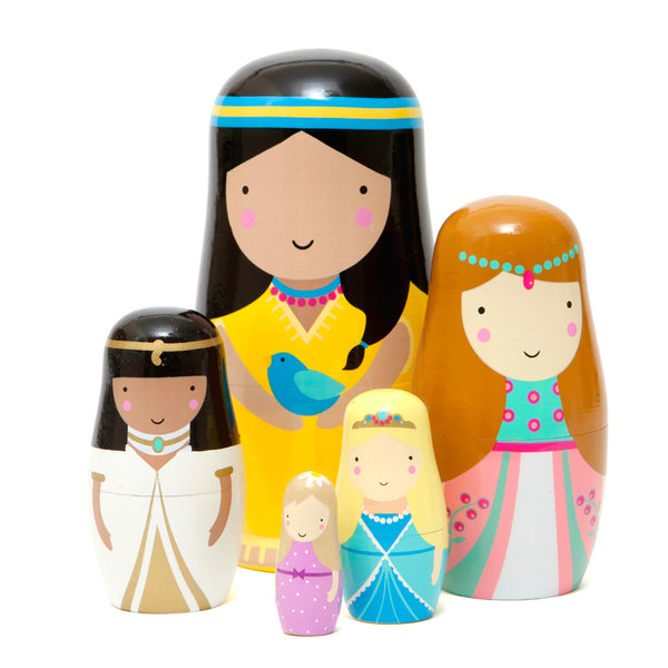 PETIT MONKEY | Princess Nesting Dolls by Sketch Inc.