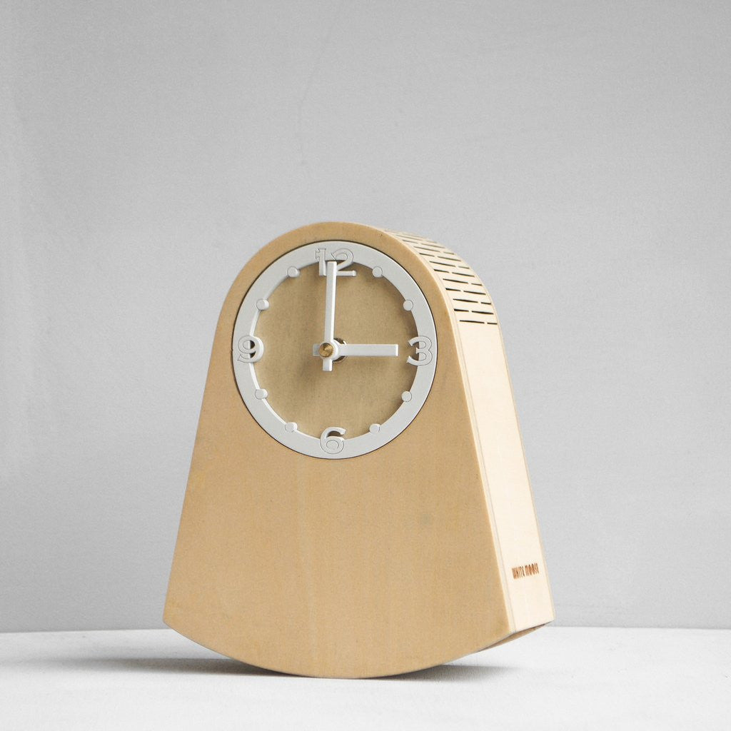 Rock Clock - Natural Wood Grain