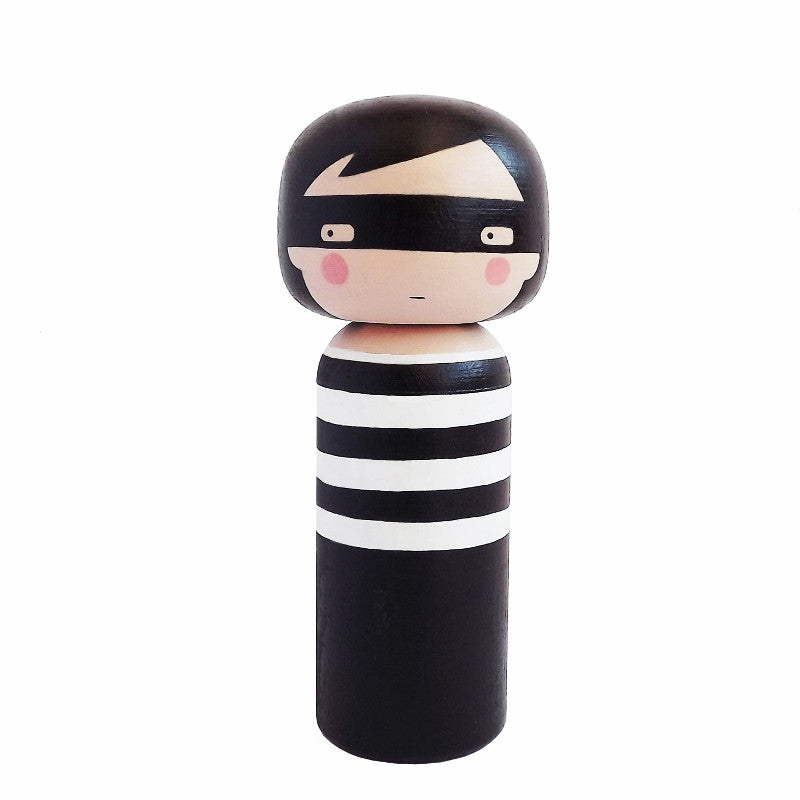 Sketch Inc. Kokeshi Doll for Lucie Kaas - Thief