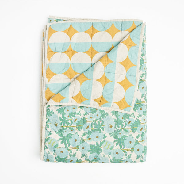 SOCIETY OF WANDERERS | Bob & Joan Double sided Quilt - COT