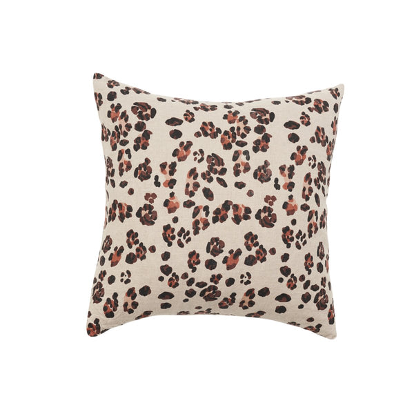 SOCIETY OF WANDERERS | Leopard Print Cushion Cover