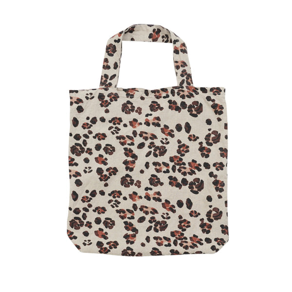 SOCIETY OF WANDERERS | Leopard Print Tote Bag