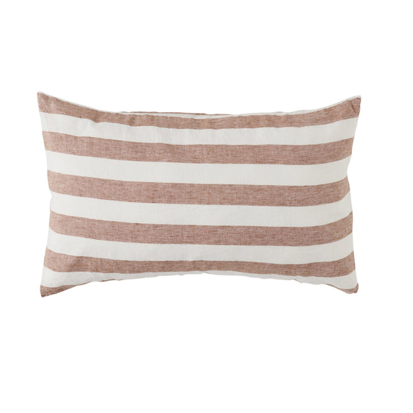 SOCIETY OF WANDERERS | Toboacco Stripe Standard Pillow Case Set