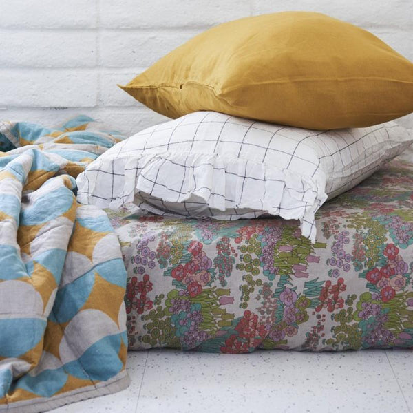 SOCIETY OF WANDERERS | Pamela's Floral Fitted Sheet