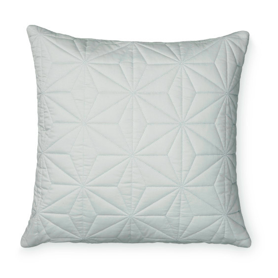 Cam Cam Quilted Cushion Cover - Square in Mint