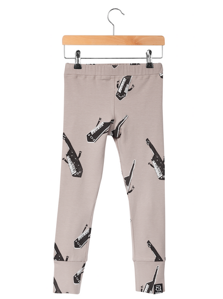 KuKuKid Guitar Leggings - Taupe