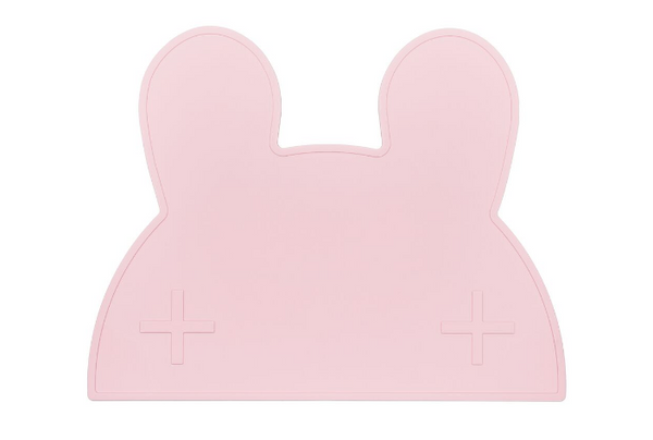 We Might Be Tiny Bunny Placemat - Powder Pink