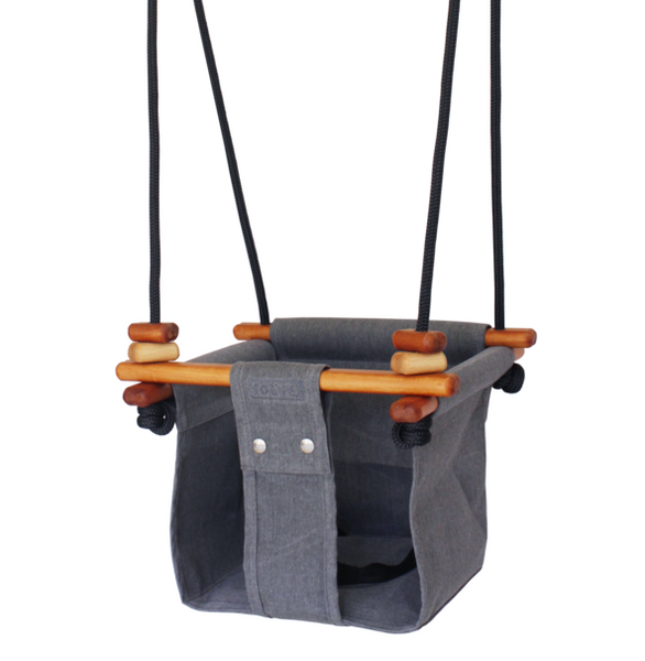 Solvej Baby & Toddler Swing -Smoke Grey