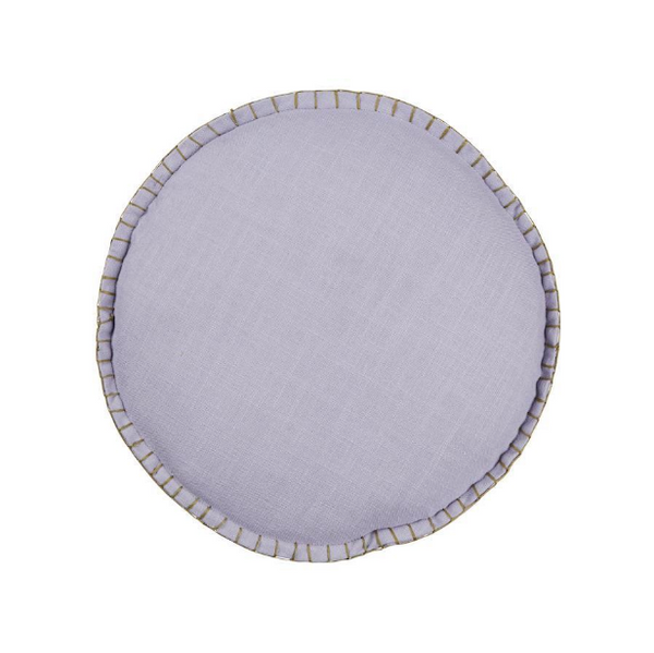 PLAY Sage & Clare Rylie Round Cushion - Lavender