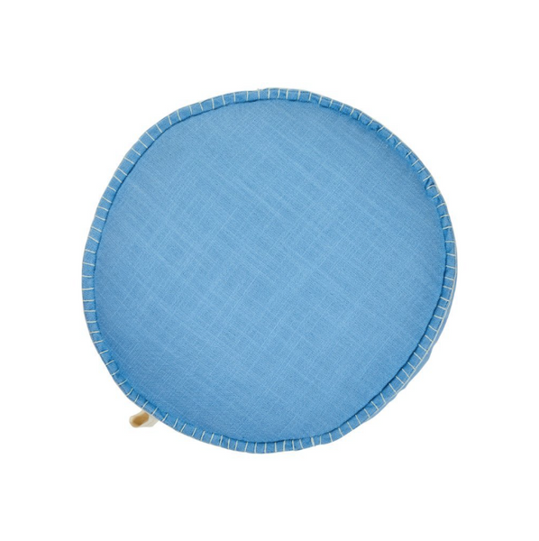 SAGE & CLARE | PLAY | Rylie Round Cushion - Cornflower (PRE-ORDER MAY)