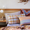 SAGE & CLARE | Cady Check Linen Pillow Case Set (PRE-ORDER MAY)