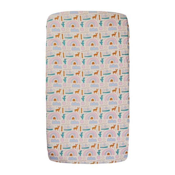 SAGE & CLARE | Nell Desert FItted Cot Sheet (PRE-ORDER MAY)