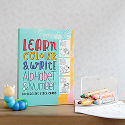 Alphabet & Number Flash Cards by Write To Me