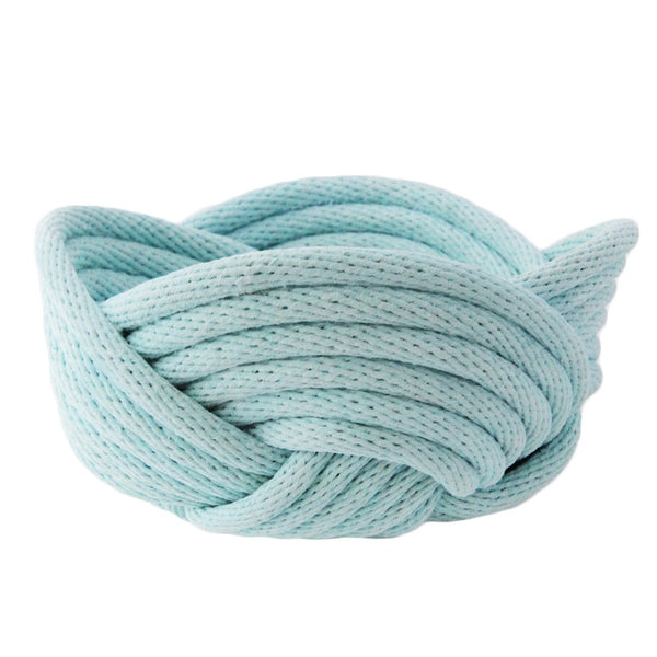 Crayon Chick Weave Bowl in Duck Egg Blue - Small or Medium