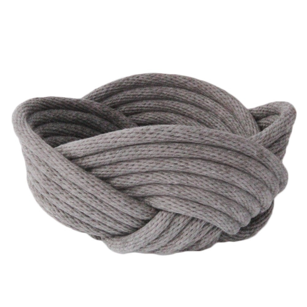 Crayon Chick Weave Bowl in Smoke Grey - Small or Medium