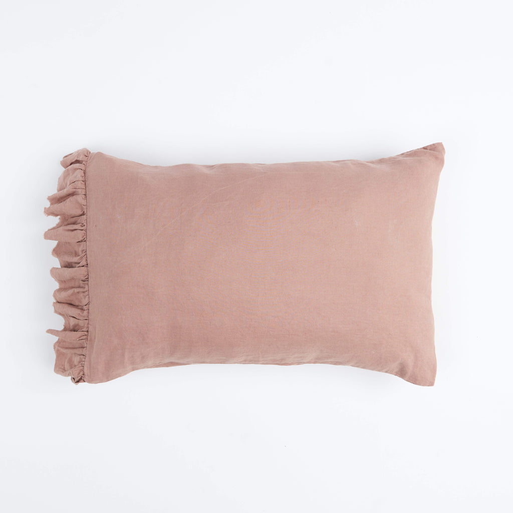 SOCIETY OF WANDERERS | Musk Ruffle Pillow Case Set