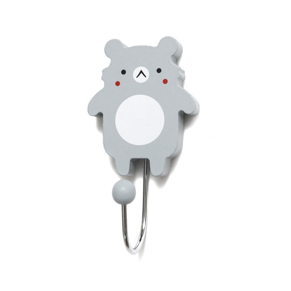PETIT MONKEY | Koala Wall Hook - Grey (WAREHOUSE SALE)