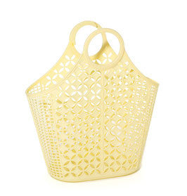 SUN JELLIES |  'Jane' Atomic Tote - Large Yellow