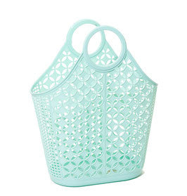 SUN JELLIES | 'Agnes' Atomic Tote - Large Mint