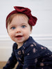 MAD ABOUT MINI | Ruby Gathered Headband