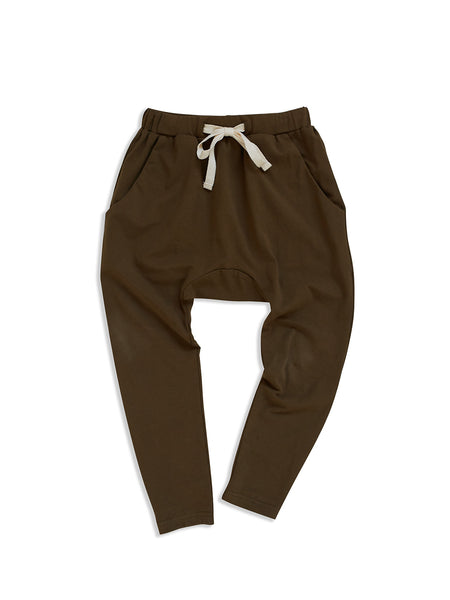 MAD ABOUT MINI | Low Slung Pant - Dark Olive