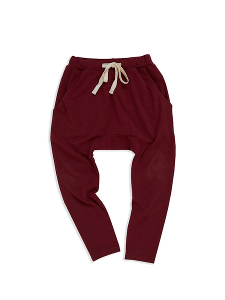 MAD ABOUT MINI | Low Slung Pant - Ruby
