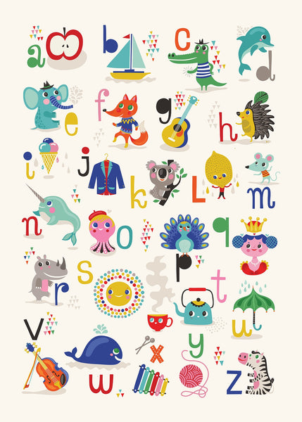 ABC POSTER by Helen Dardik