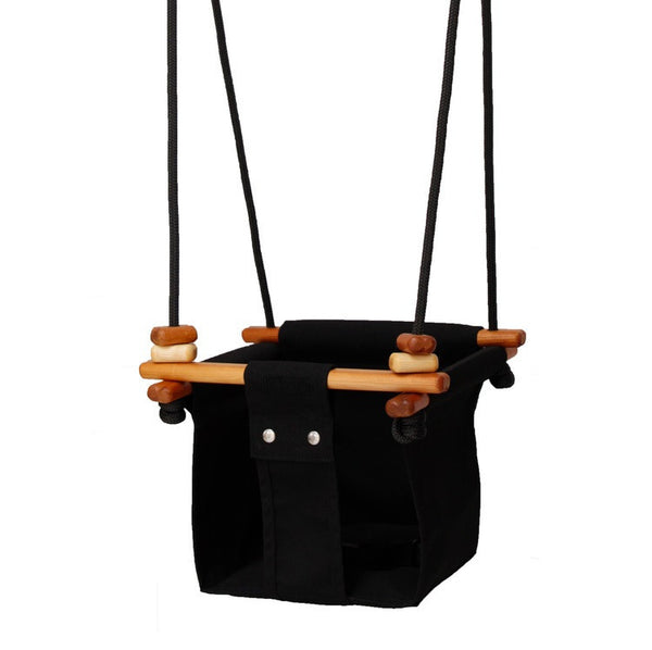 Solvej Baby & Toddler Swing - Black