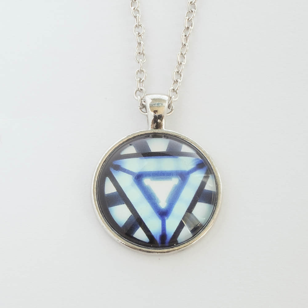 Marvel iron mans arc reactor necklace south african provider iron mans arc reactor necklace aloadofball Image collections