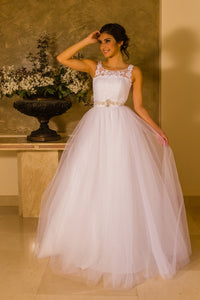 Tuille Gown