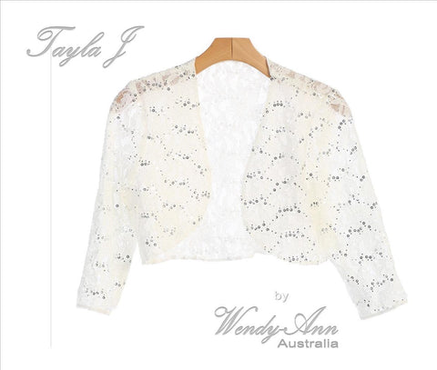 Tayla J  T8723 Jacket (Bridal)