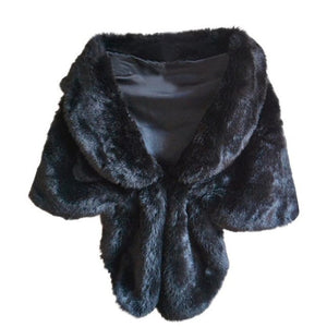 F101 Faux Fur Fashion Wrap.