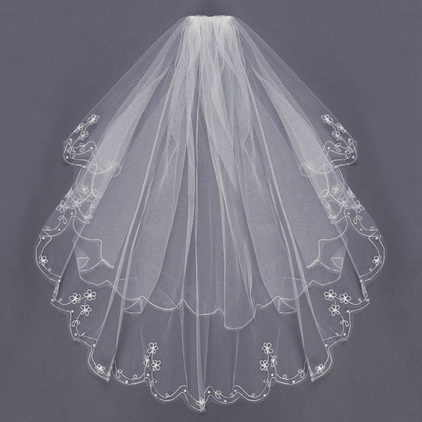 V101 Bridal Wedding Veil