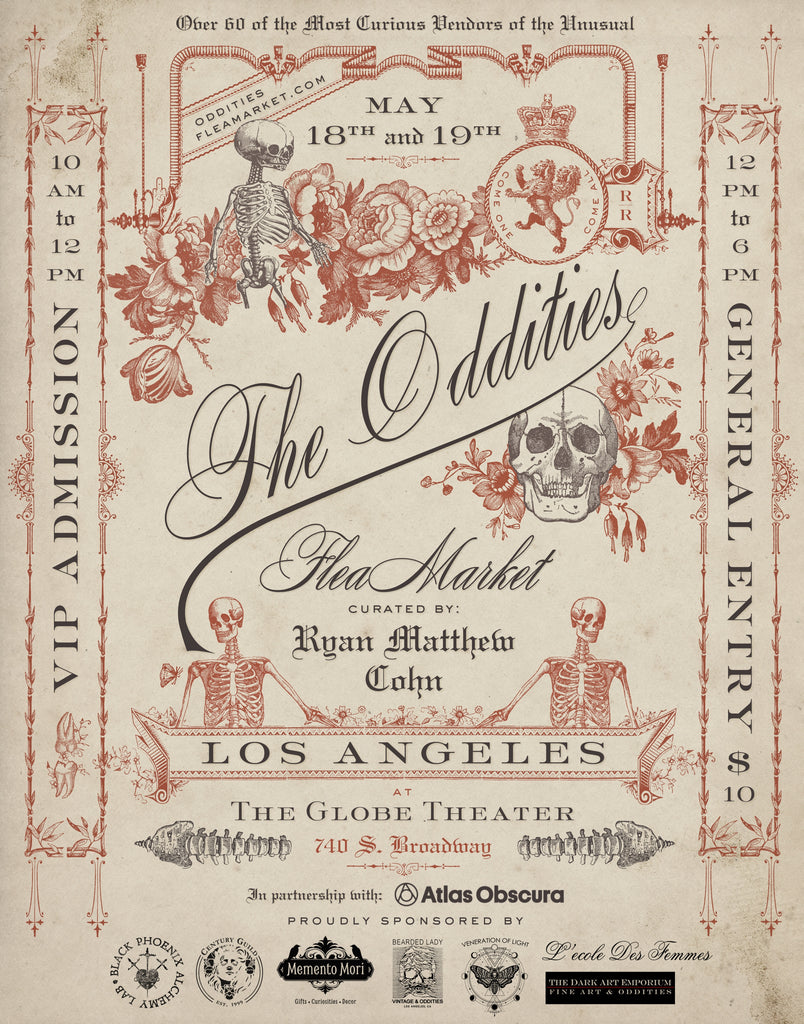 Oddities Flea Market - May 18 & 19 - Downtown LA!